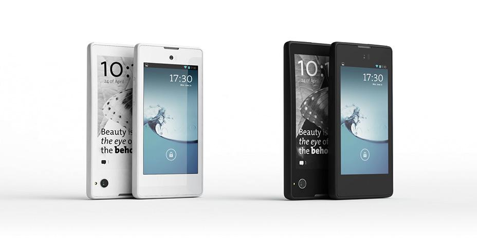 Yotaphone - le smartphone russe à double écran