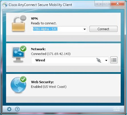 Cisco anyconnect
